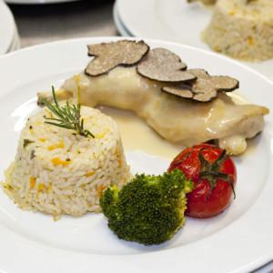 repas de gala aux truffes près de Marseille