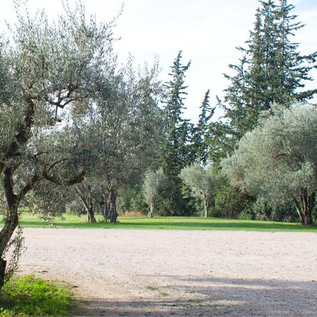 parc de la salle de réception à Gémenos