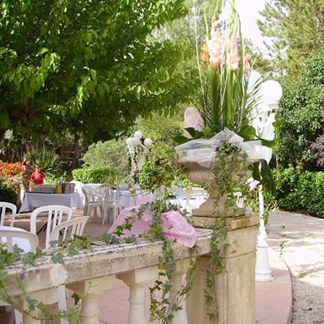 terrasse pour réception près de Marseille